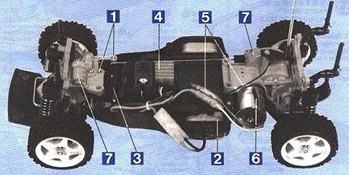 Tamiya TA-02 Chassis