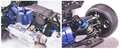 44049 Tamiya Esso Ultraflo Supra 2005 Tg10 Mk2 Sg
