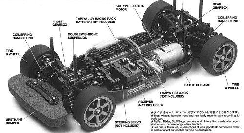 Tamiya Tt 01 Chassis Rcscrapyard Radiografisch