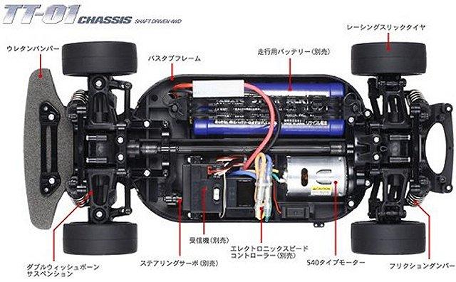 Tamiya Tt 01 Chassis Funkgesteuertes Modellarchiv