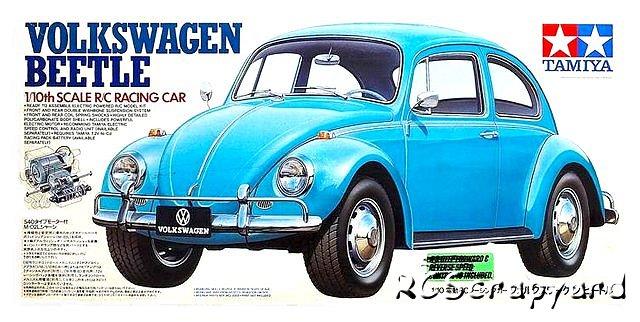 Tamiya Volkswagen Beetle #58173 M-02L • RCSyard - Radio ...