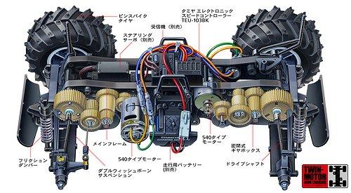 Tamiya Wr 01 Chassis Rcscrapyard Radio Controlled