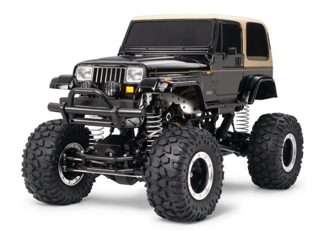 Tamiya Jeep Wrangler Rock Crawler #58429 CR01