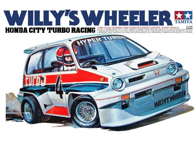 Tamiya Willys Wheeler -