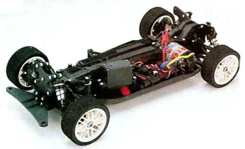 Yokomo MR4-Rally Chassis