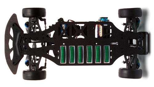 Yokomo MR4TC BD Chassis