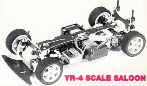 Yokomo YR4 Chassis