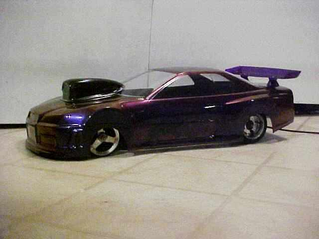 Import Nissan Drag Car