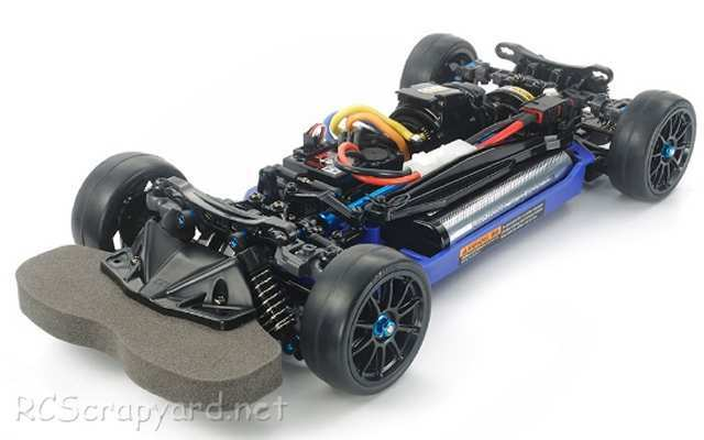 Tamiya TT-02RR Chassis - # 47382
