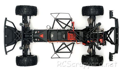 Arrma Mojave BLX Chassis