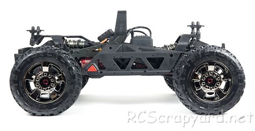 Arrma Nero Big Rock 6S BLX Chassis