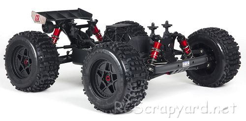 Arrma Outcast 6S BLX Chassis