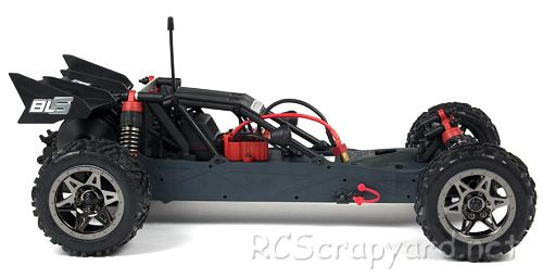 Arrma Raider BLS Chassis