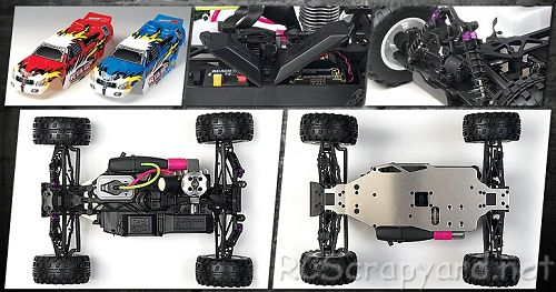 Academy RT4-GP Chassis