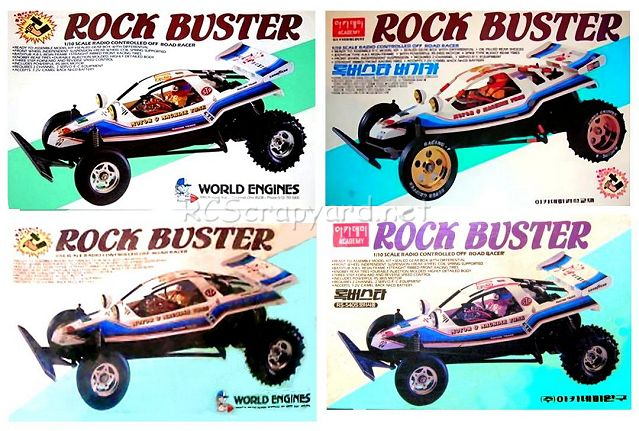 Academy Rock Buster