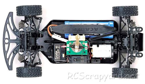 Academy STR-4 Rally F Chassis