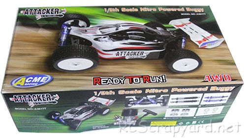 Acme Racing Attacker Chassis