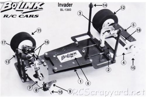 Bolink Invader Chassis