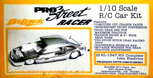 Bolink Pro Street Racer Drag Car • (Radio Controlled Model Archive