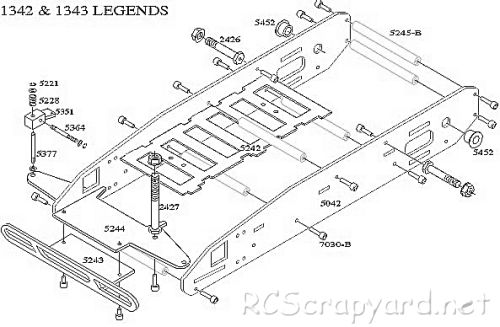 Bolink R/C Legends Chassis