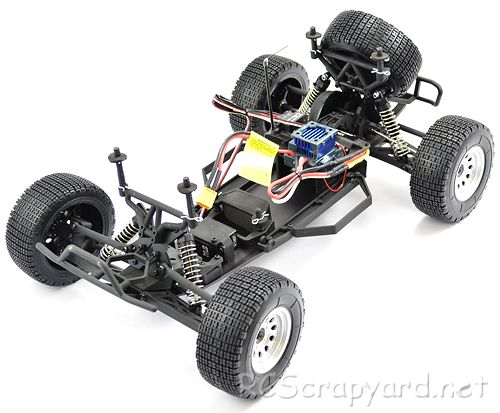 Carisma M10SC Chassis