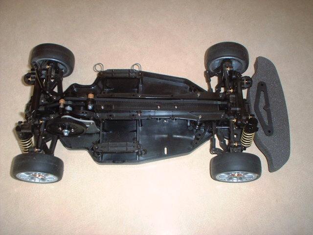 Tamiya TA04 Ferrari Chassis