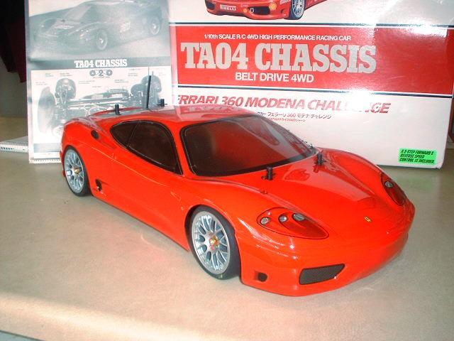 Tamiya TA04 Ferrari