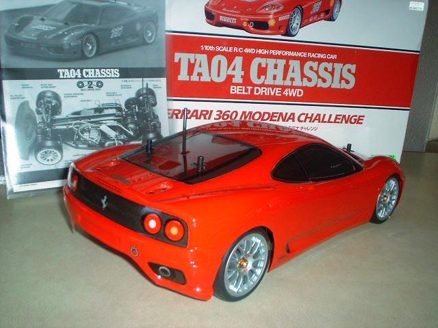 Tamiya TA04 Ferrari Rear