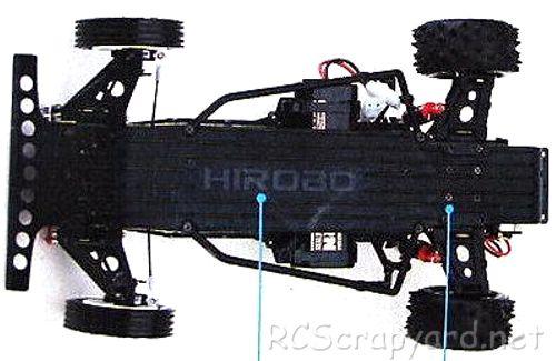 Hirobo Bearcat Chassis