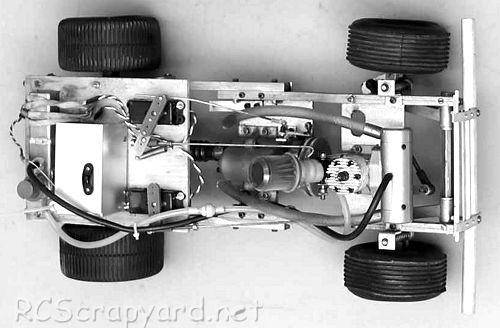 Hirobo Ford Bronco Chassis