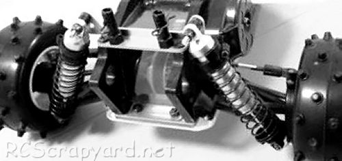Hirobo Invader Chassis