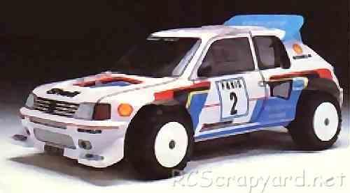 Hirobo Peugeot 205 Turbo 16