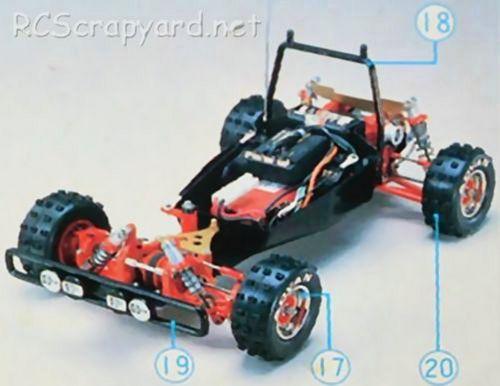 Hirobo Rock'n City - 44B Chassis