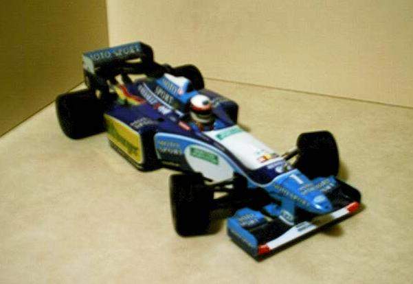 Tamiya Benetton Formula One (F1) Car