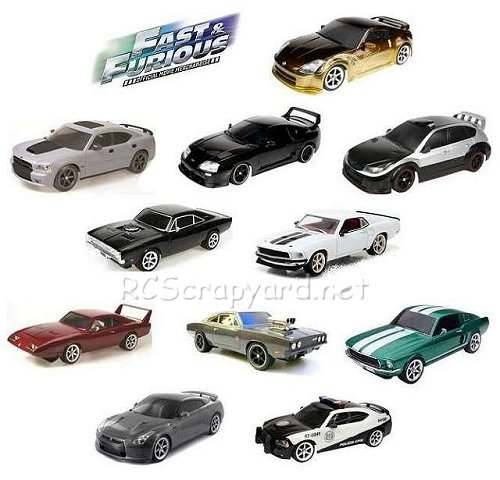 Nikko Fast and Furious Series Cars