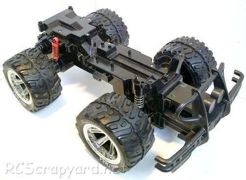 Nikko Hummer H1 Chassis