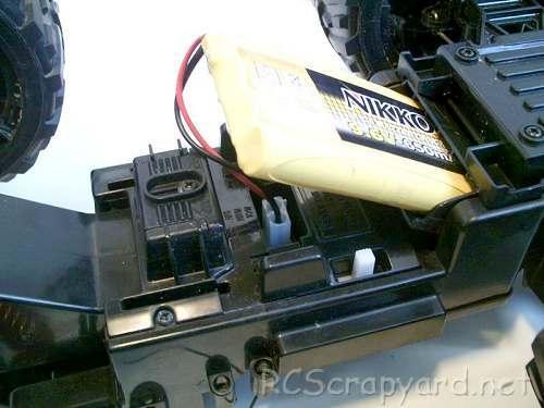 Nikko Hummer H2 Chassis