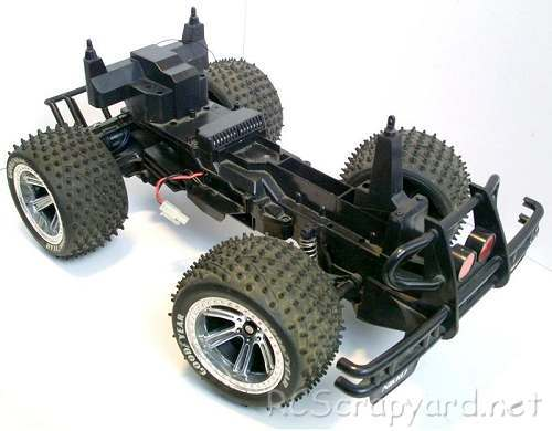 Nikko Jeep Wrangler Chassis