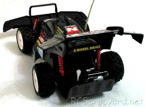Nikko Laser 4WD Chassis