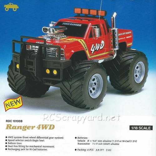 Nikko Ranger 4WD Chassis