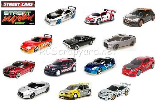 Nikko Street - Mayhem Series Cars