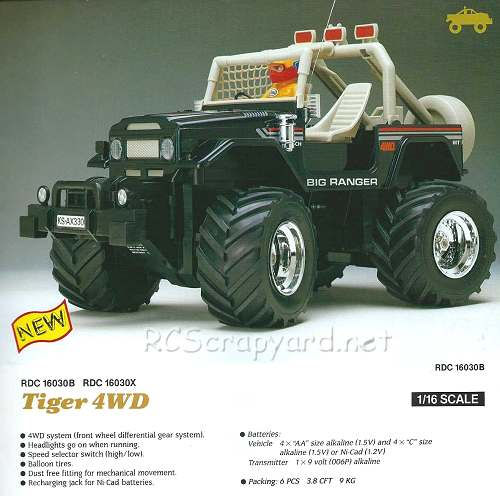 Nikko Tiger 4WD
