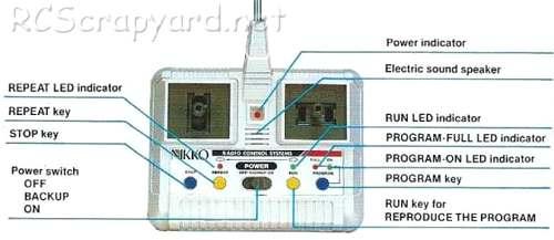 Nikko Toyota Hilux 4WD Memory Radio