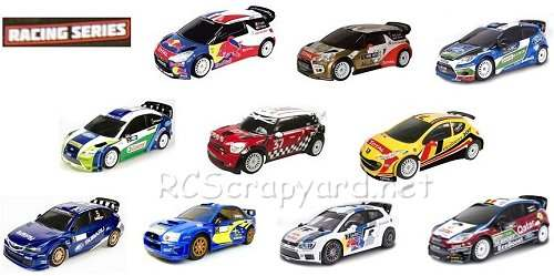 Nikko WRC Racing Series Cars