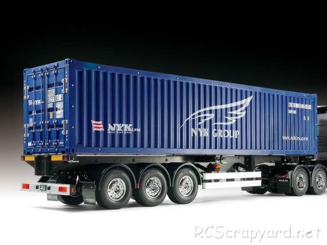 Tamiya NYK 40ft Container Semi Trailer - # 23688