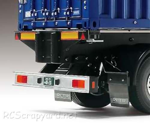 Tamiya NYK 40ft Container Semi Trailer