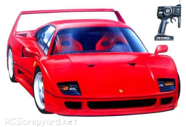 46015 Tamiya Ferrari F40 Qd Funkgesteuertes Modellarchiv Rcscrapyard