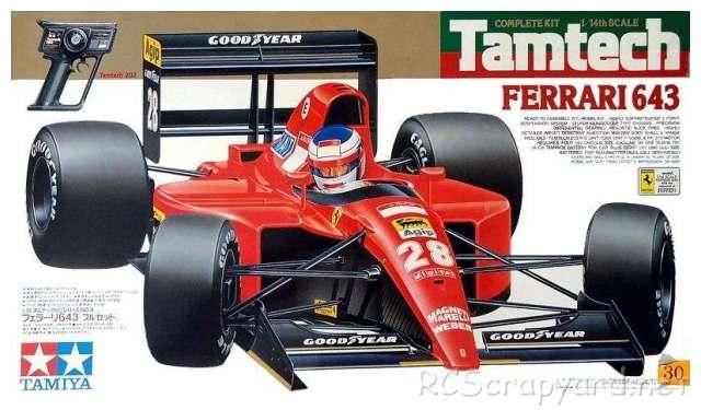 Tamiya Ferrari 643 - # 47008