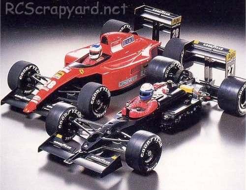 Tamiya Ferrari 643 Chassis