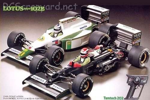Tamiya Lotus Type 102B Chassis